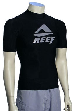 Zoom for Reef Water Me SS Rash Guard - Black