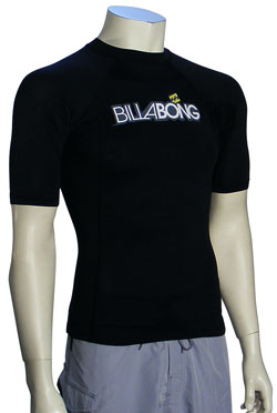 Billabong Progression SS Rash Guard - Black