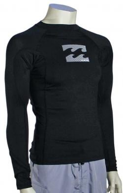 Billabong All Day LS Rash Guard - Classic Black
