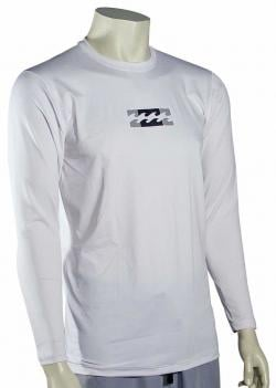 Billabong Amphibious LS Surf Shirt - White