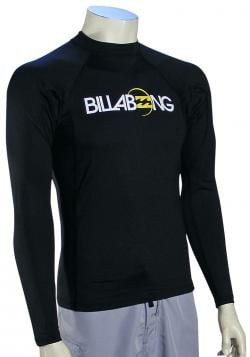 Billabong All Day LS Rash Guard - Black