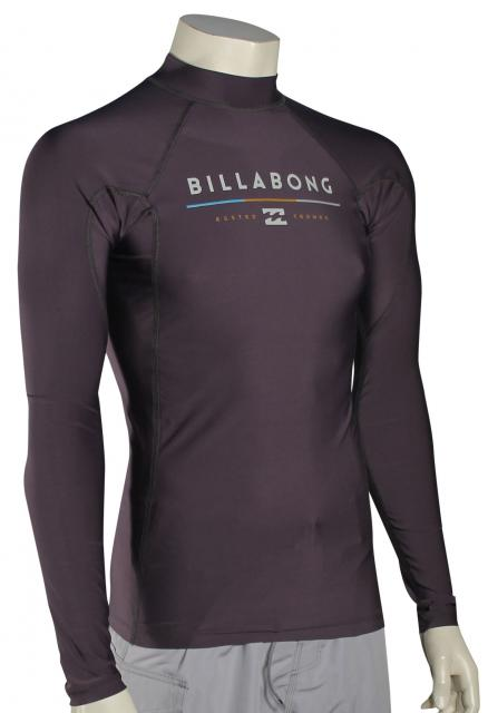 Billabong All Day LS Rash Guard - Charcoal