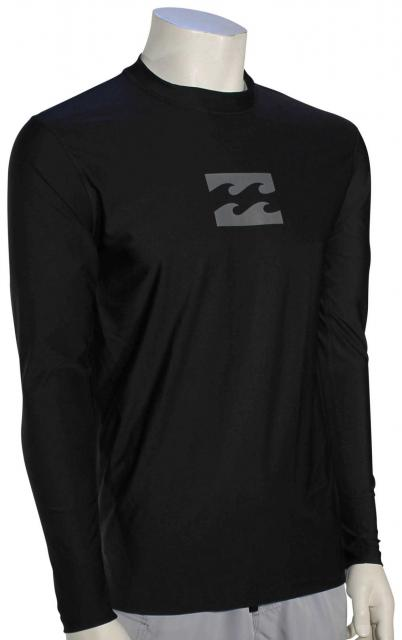 Billabong All Day Wave LS Surf Shirt - Black
