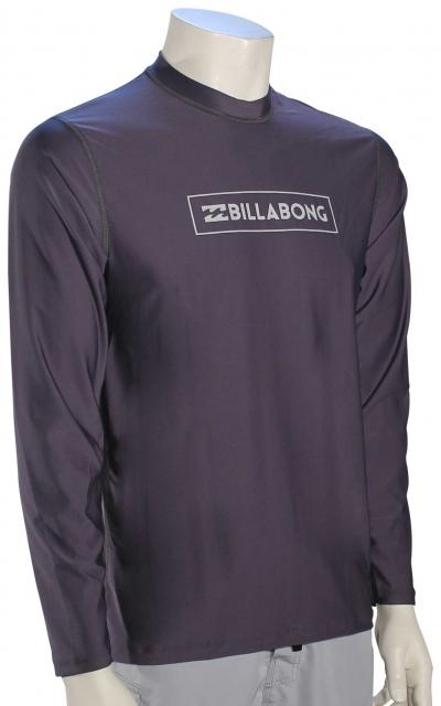 Billabong All Day Unity LS Surf Shirt - Charcoal