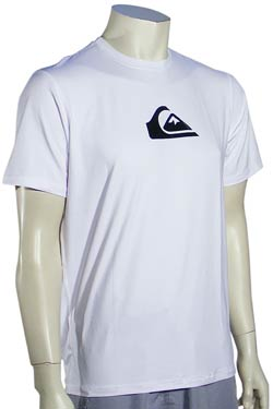 Quiksilver Perfecta SS Surf Shirt - White
