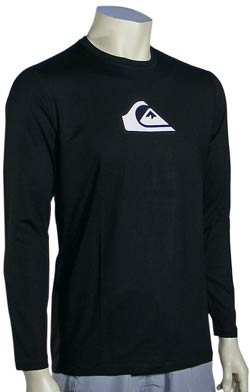 Quiksilver Perfecta LS Surf Shirt - Black