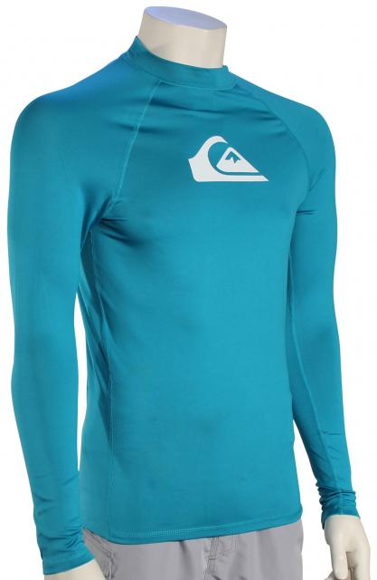 Quiksilver All Time LS Rash Guard - Typhoon