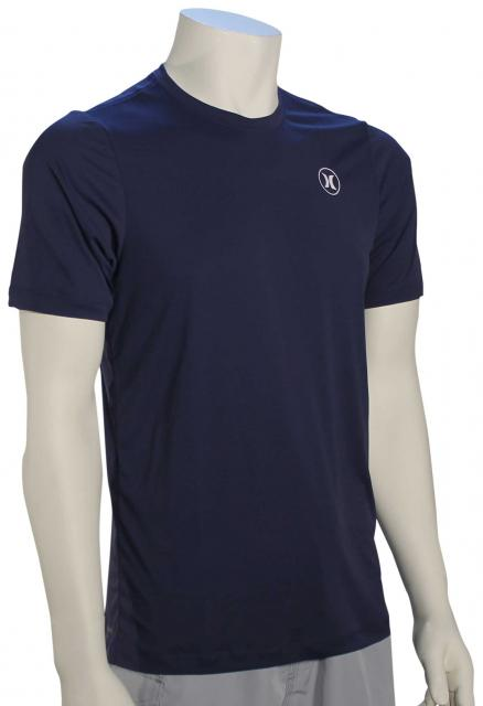 Hurley Dri-Fit Icon SS Surf Shirt - Midnight Navy