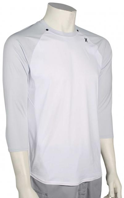 Hurley Dri-Fit Icon 3/4 Surf Shirt - White