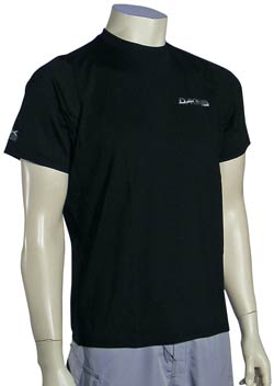 DaKine Off Shore SS Surf Shirt - Black
