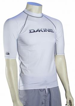 DaKine Heavy Duty SS Rash Guard - Classic White