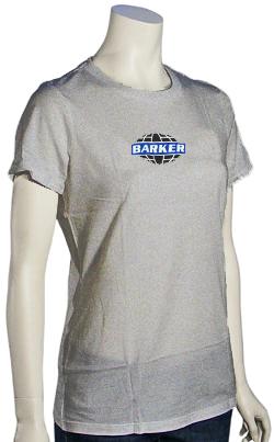 Barker Globe Women's T-Shirt - Heather Grey