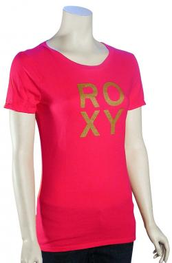 Roxy Proud T-Shirt - Hot Rose