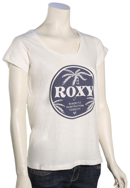 Roxy Bobby Twist BHT Women's T-Shirt - Marshmellow