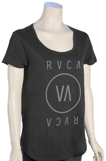 RVCA High End Women's T-Shirt - Black