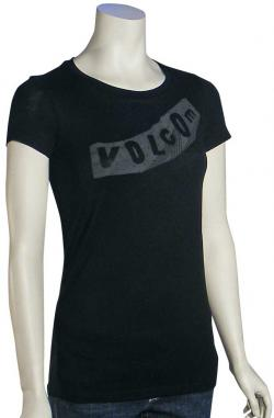 Volcom Pistoldat Women's T-Shirt - Black