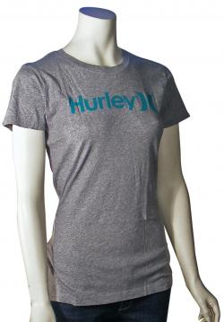 Hurley One and Only Perfect Crew Women's T-Shirt - Heather Grey
