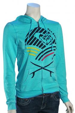 Roxy On The Course Hoody - Riviera Turq