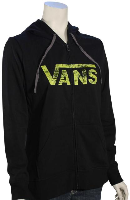 Vans Authentic Women's Zip Hoody - Black