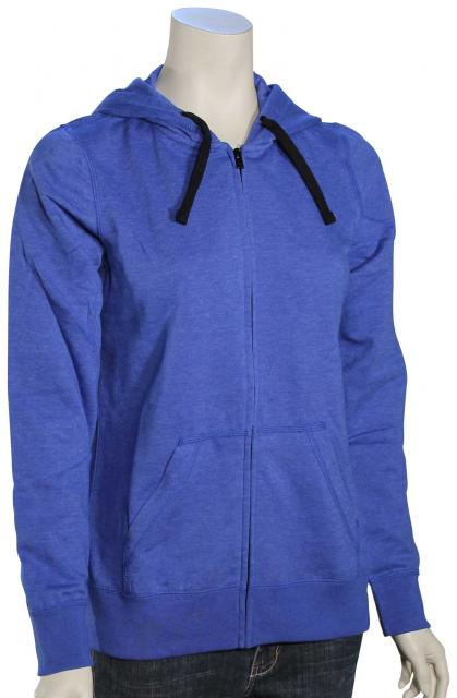 Hurley Staple Icon Women's Zip Hoody - Heather Racer Blue