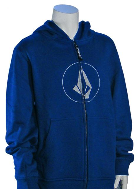 Volcom Boy's New Stone Basic Hoody - Estate Blue