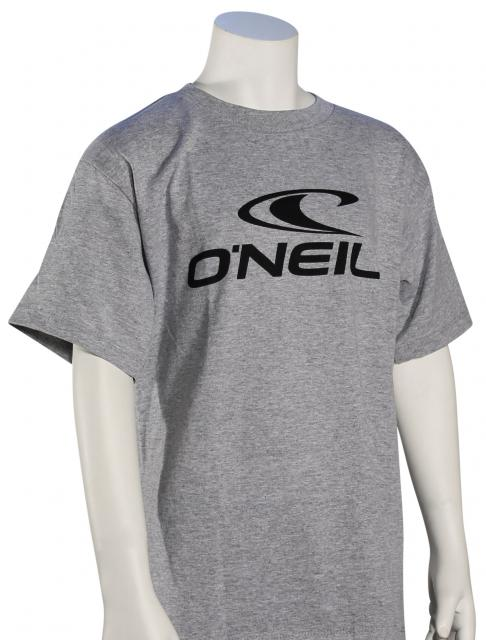 O'Neill Boy's One T-Shirt - Medium Heather Grey