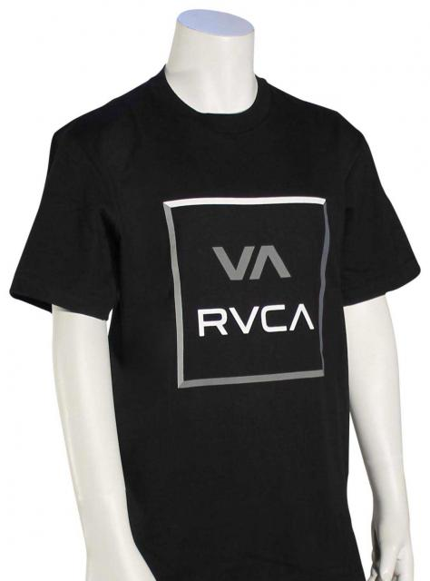 RVCA Boy's All The Colorway T-Shirt - Black