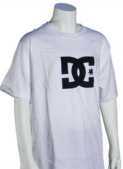 Zoom for DC Boy's Star T-Shirt - White