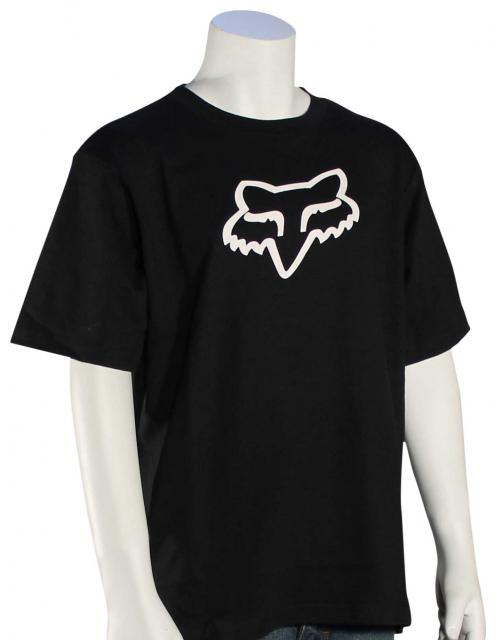 Fox Boy's Legacy T-Shirt - Black