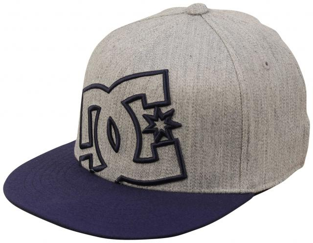 1472813188598 DC Boy s Ya Heard Hat - Dark Indigo   Heather Grey For Sale at  Surfboards.com (583530)