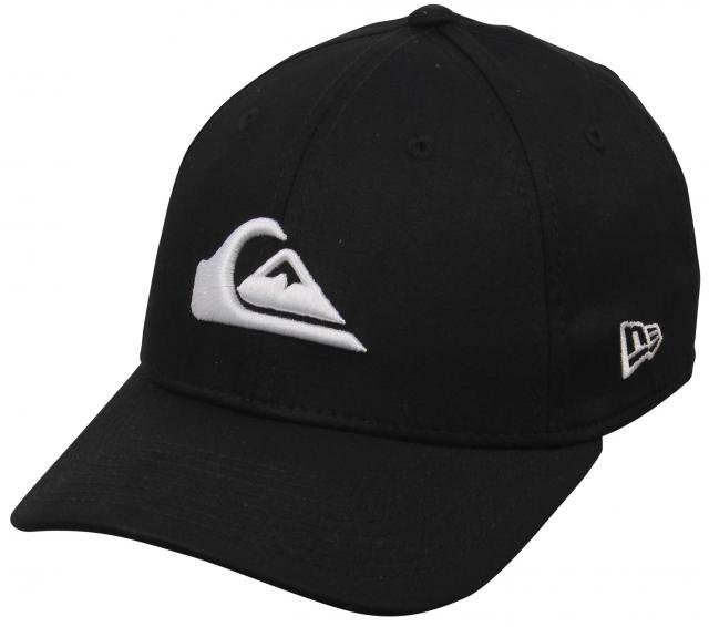 Quiksilver Boy's Mountain and The Wave Hat - Black