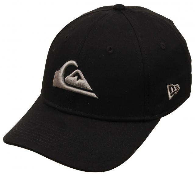 Quiksilver Boy's Mountain and The Wave Hat - Vintage Balck
