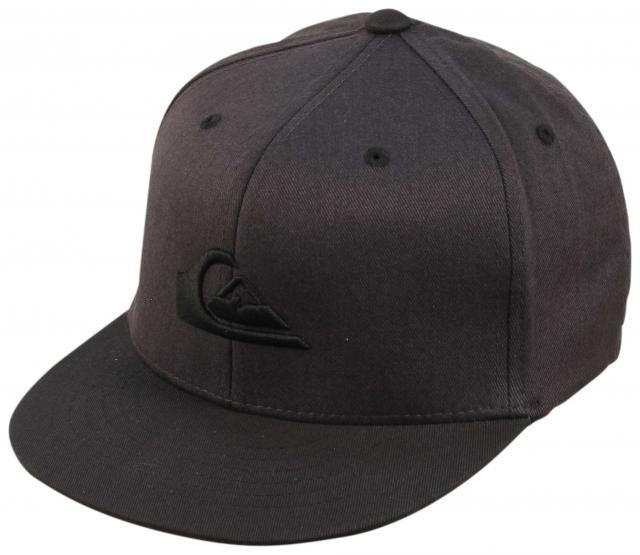 Quiksilver Boy's Stuckles Hat - Dark Shadow