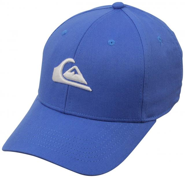 Quiksilver Boy's Decades Snapback Hat - Imperial Blue