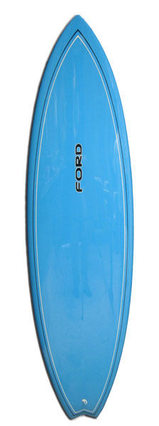 Ford Blue Single Fin