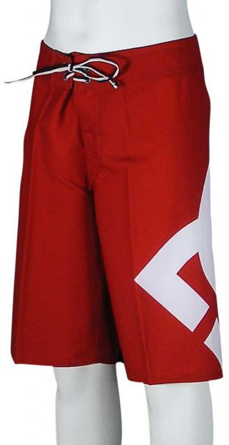 DC Lanai Essential Boy's Boardshorts - Deep Red