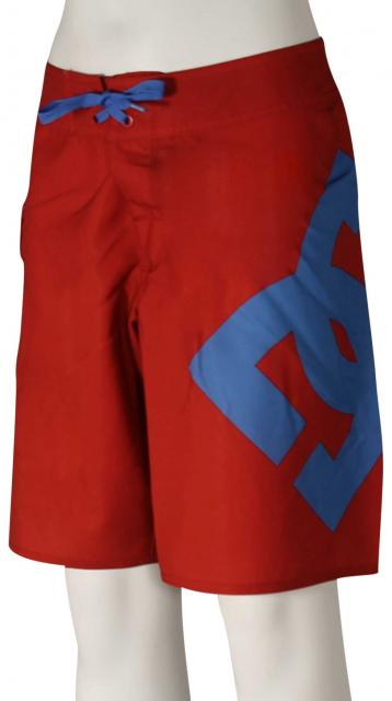 DC Boy's Lanai Essential Boardshorts - Tango Red