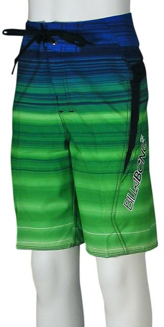 Billabong Boy's Flux Boardshorts - Royal / Green
