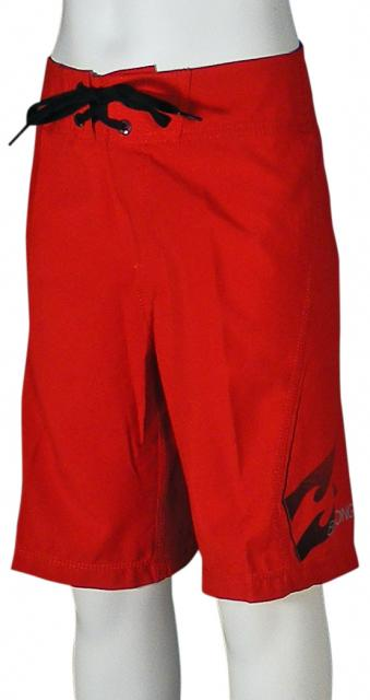 Billabong Boy's All Day Boardshorts - Lifeguard Red