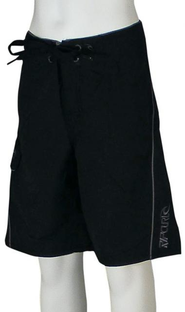Rip Curl Boy's Overthrown Boardshorts - Black