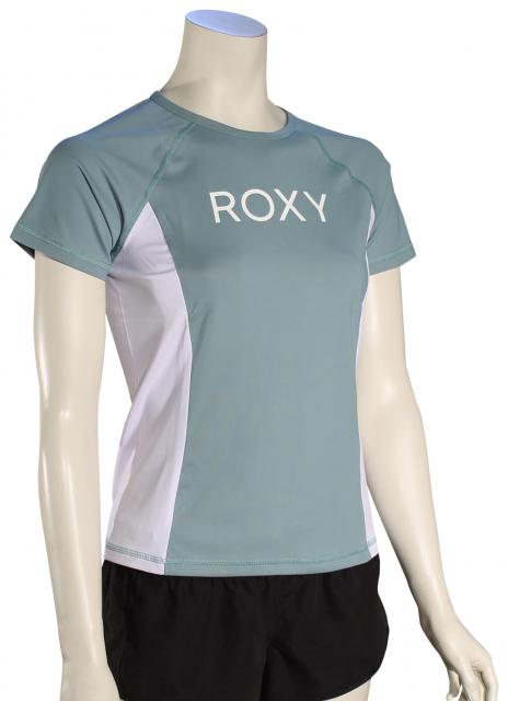 Roxy On My Board Lycra SS Surf Shirt - Trellis