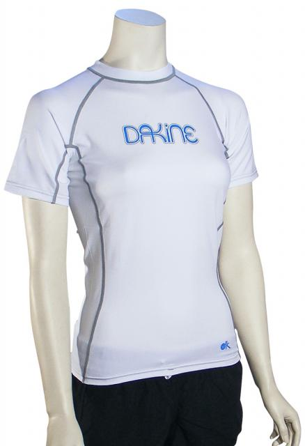 DaKine Drift SS Women's Rash Guard - White