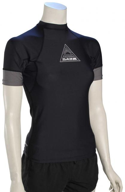 DaKine Flow SS Women's Rash Guard - Black