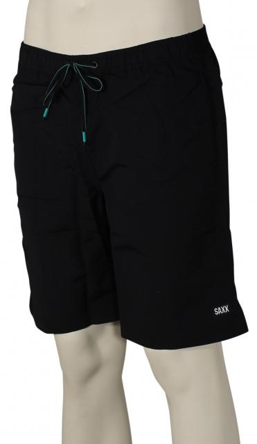 Saxx Cannonball Long Volley Shorts - Black
