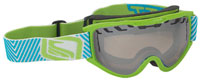 Scott Decree Snow Goggles - Green / Natural Light Chrome