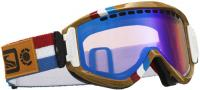 Scott Alias Semi Pro Snow Goggles - Light Amp / Multi Layer Blue Chrome