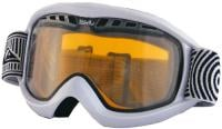 Quiksilver Eclipse Snow Goggles - White A30 / Orange