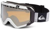 Quiksilver Q-1 OTG Snow Goggles - White / Orange Chrome