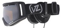 Von Zipper Dojo Snow Goggles - Black Satin Skullcandy / Bronze Chrome