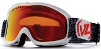 Von Zipper Sizzle Snow Goggles - White Gloss / Fire Chrome